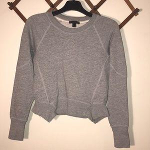 J.CREW Crop sweatshirt